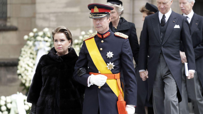 Los grandes duques de Luxemburgo, en una imagen de archivo. (EFE)