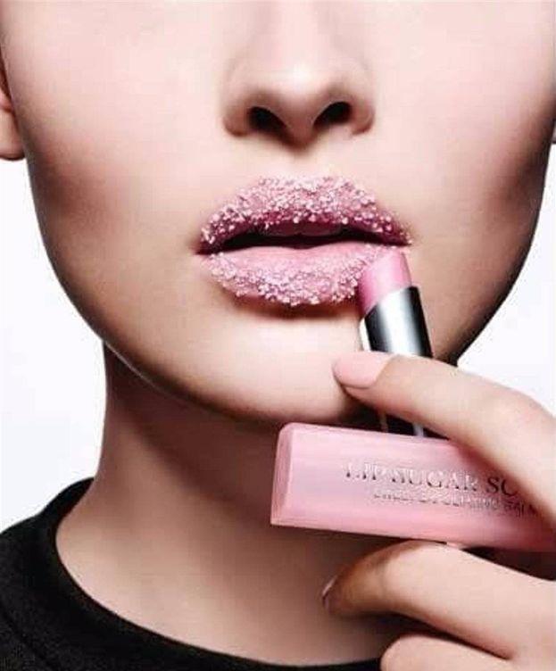 Foto: Imagen de campaña de Lip Sugar Scrub de Dior.
