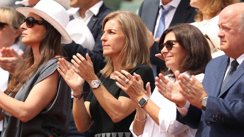 Foto: Arantxa Sánchez Vicario, en la pasada edición de Roland Garros. (Getty)