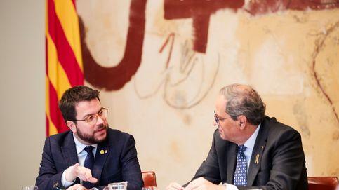 Puigdemont vigilará a Aragonès para que ERC no capitalice la inhabilitación de Torra