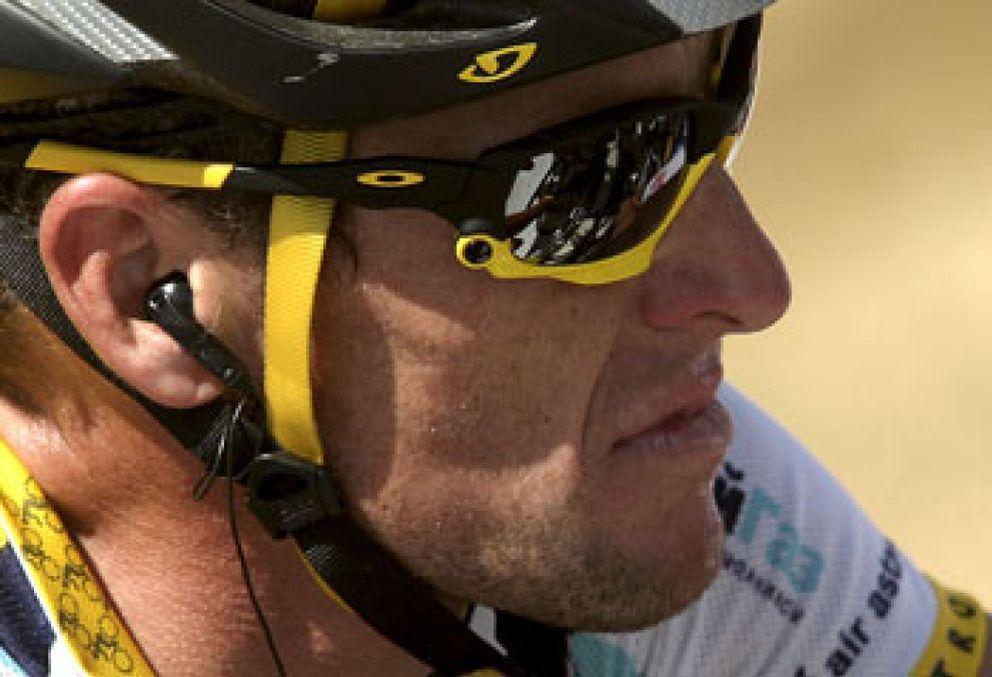 Foto: Armstrong, harto de las sospechas de dopaje