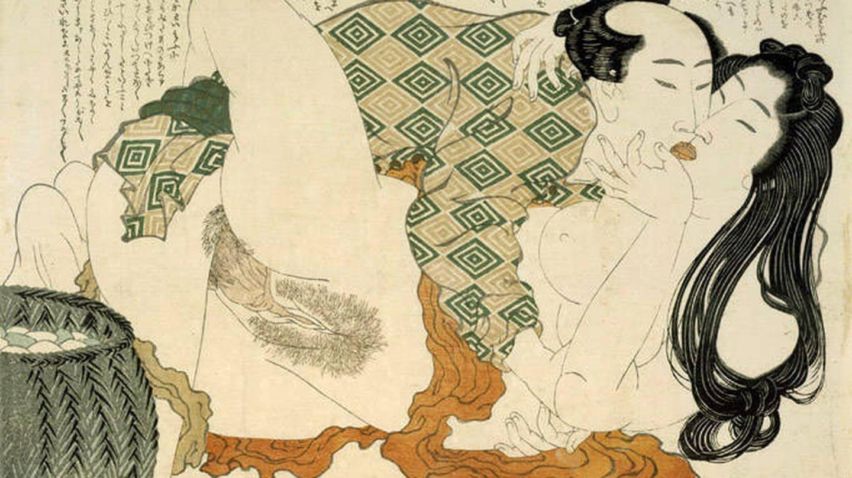 'Shunga' de Katsushika Hokusai. (1815)