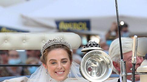 Charlotte Lindesay-Bethune, elegante novia princesa: su vestido y su llegada en carruaje