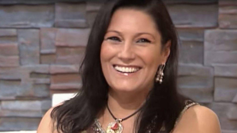 Carmen Ordóñez, en el plató de 'A tu lado'. (YouTube)