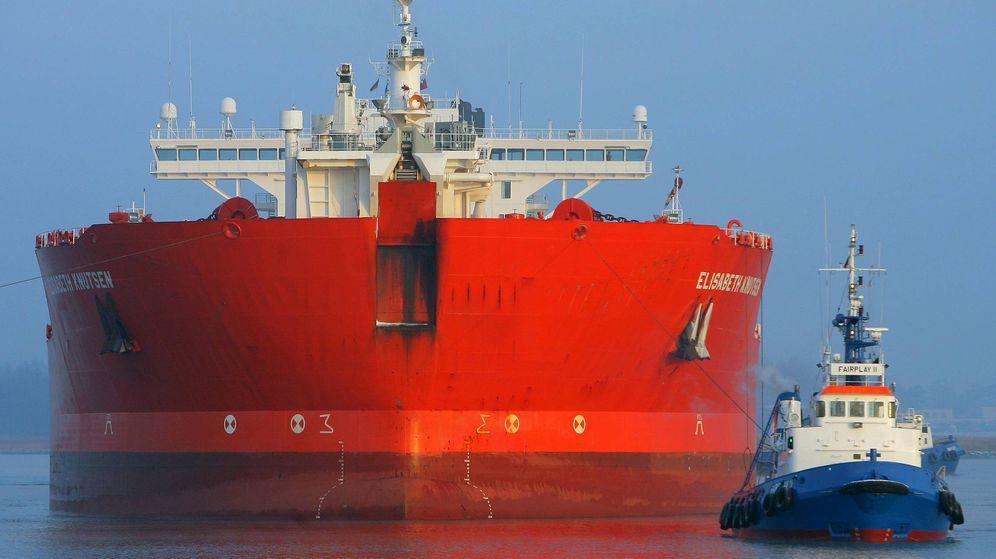Foto: El petrolero 'Elisabeth Knutsen. (EFE)