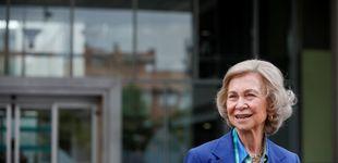 Post de La reina Sofía a Ágatha Ruiz de la Prada y Luis Miguel Rodríguez: