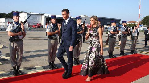 Pedro Sánchez llega a Biarritz para asistir a la cena informal de los líderes del G-7