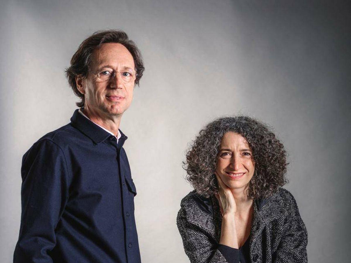 Foto: Fermín Vázquez y Ana Bassat.