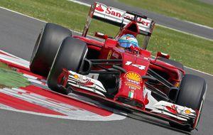 Larga vida al rey Fernando, que hizo de las suyas en Silverstone