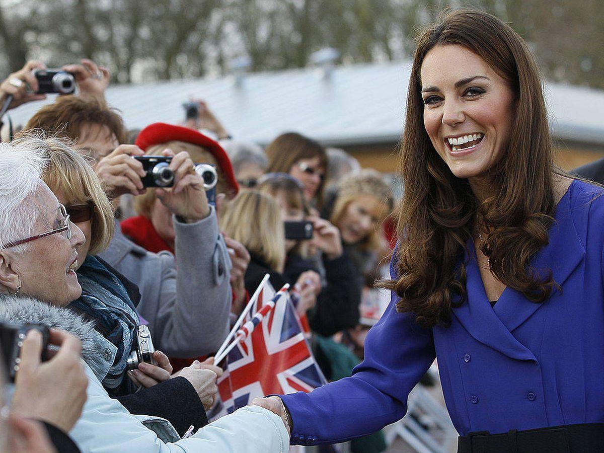Foto: Kate Middleton, en el año 2012 con el vestido en cuestión. (Getty)