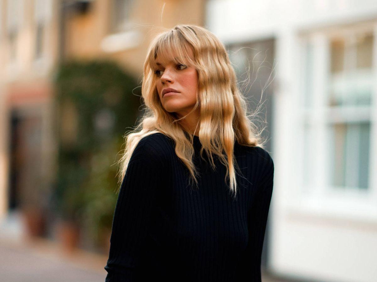 Foto: El flequillo de moda en Inglaterra. (Imaxtree)