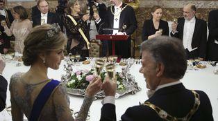La mano de los nuevos Reyes en Palacio: cena al ritmo de la Oreja de Van Gogh