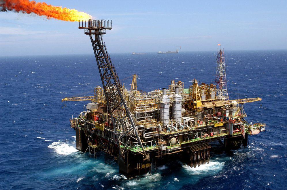 Foto: Plataforma petrolífera. (EFE)