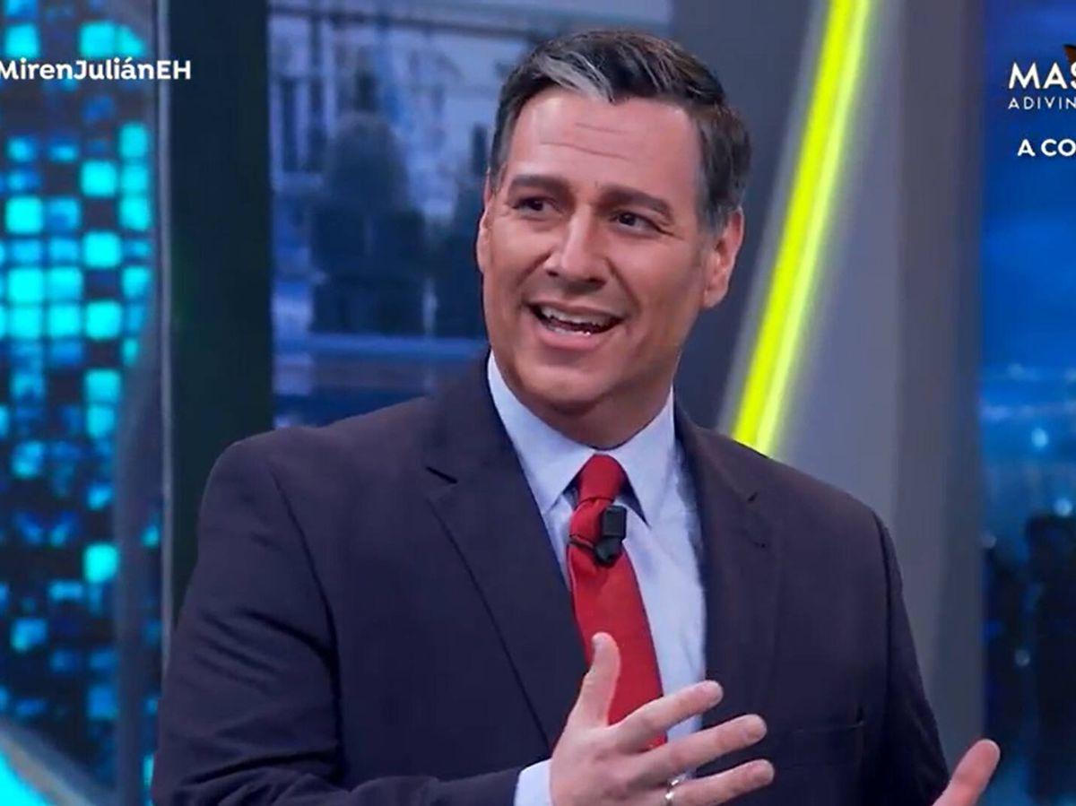 Foto: Carlos Latre imita a Pedro Sánchez en 'El hormiguero'. (Atresmedia)