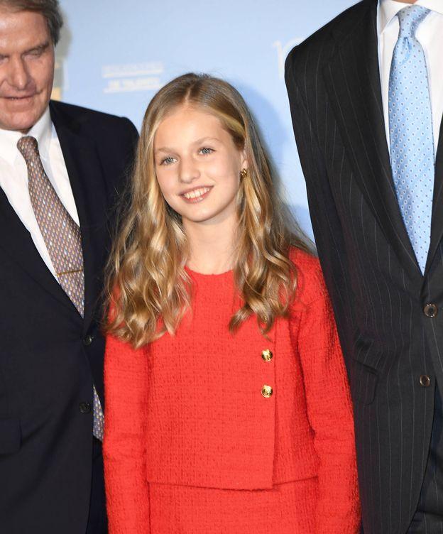 Foto: La princesa Leonor, en los Premios Princesa de Girona. (Limited Pictures)