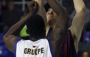 El Barcelona no necesitó a Navarro para pasar por encima del Murcia