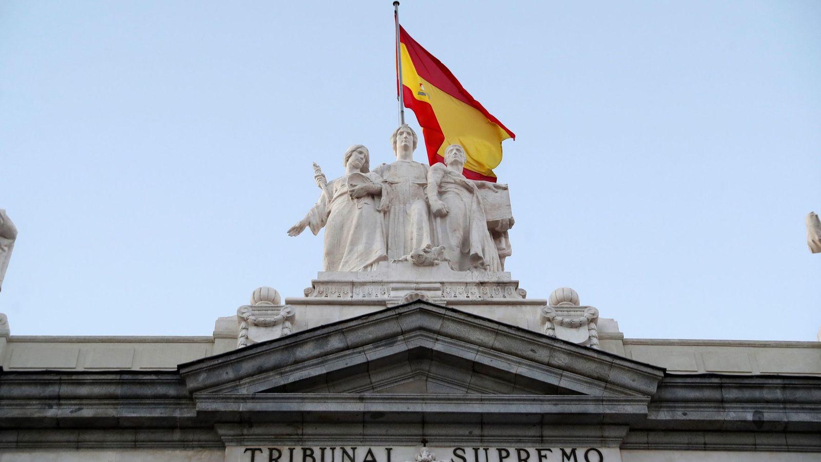 Foto: El Tribunal Supremo. (EFE)