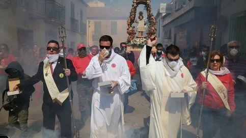 100.000 petardos en Granada para celebrar a su Resucitado