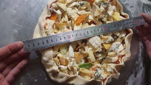 Una pizza de récord Guinness: 257 variedades de queso en apenas 30 cm