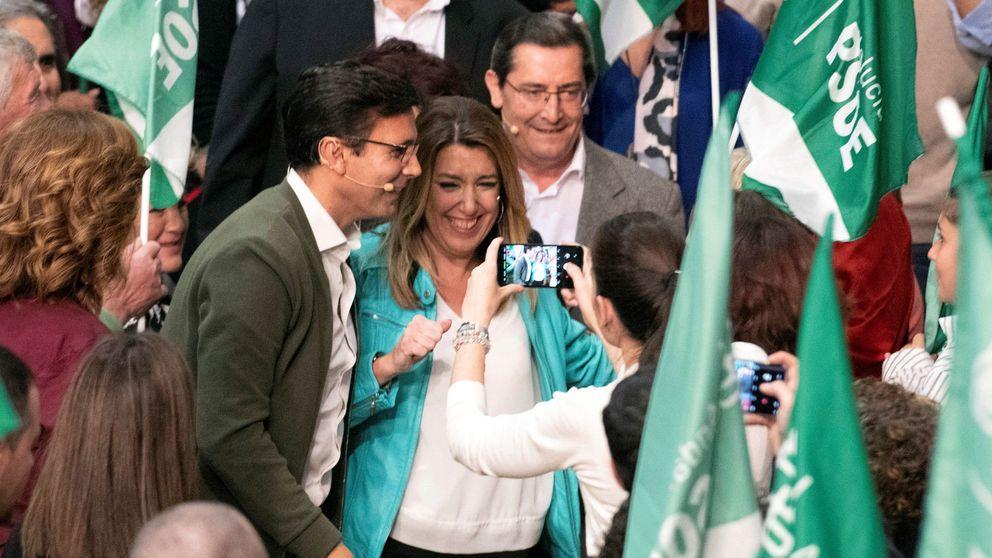 Susana Díaz llama a llenar las urnas contra los insultos