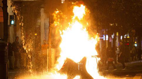 Continúa la violencia en Barcelona: tercera noche de disturbios