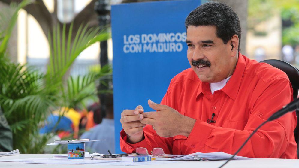 Foto: El presidente de Venezuela, Nicolás Maduro, poco después de presentar su versión de 'Despacito'. (Reuters)