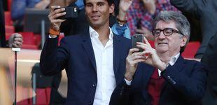 Post de El malestar (rancio) de parte del Real Madrid con Nadal por vestirse del Atleti