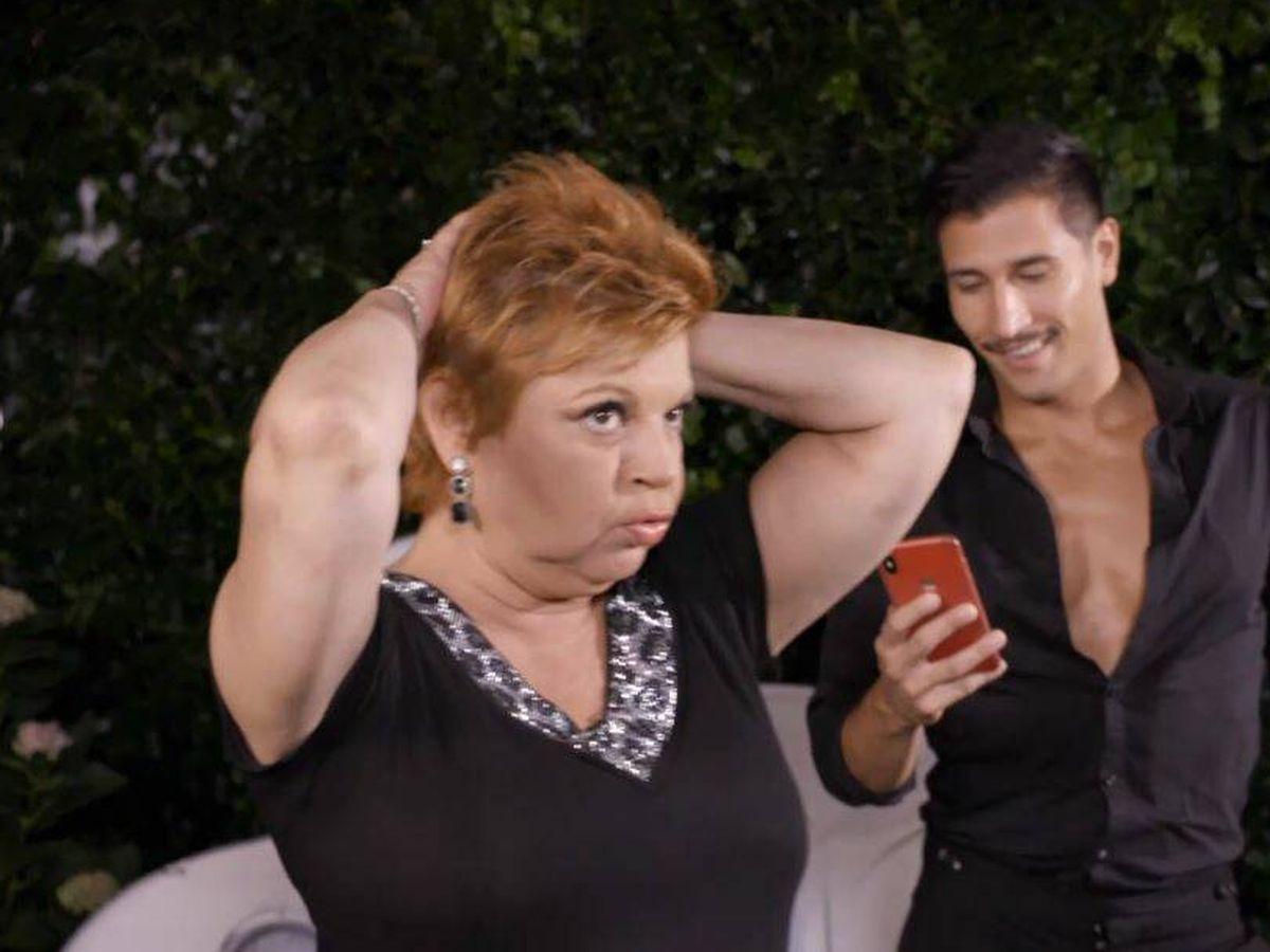 Foto: Terelu Campos, concursante de 'Ven a cenar conmigo'. (Mediaset España)