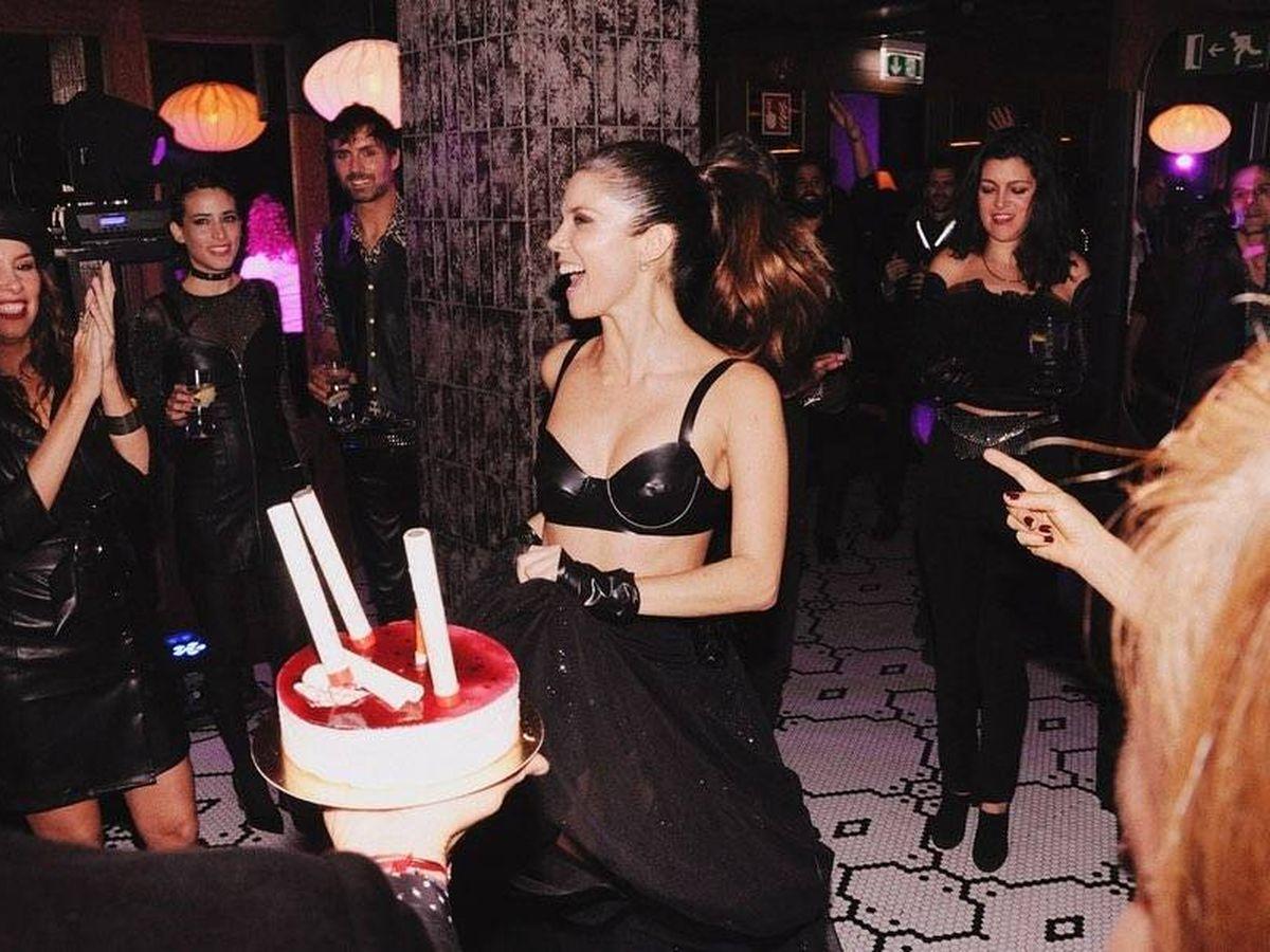 Foto: Juana Acosta, celebrando su 43 cumpleaños. (Instagram)