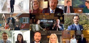 Post de Felipe y Letizia participan en un vídeo con todos los royals para felicitar a Margarita II