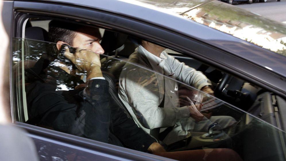 Foto: Pedro Sánchez, a su llegada este 29 de septiembre a la sede federal, en Ferraz. (EFE)