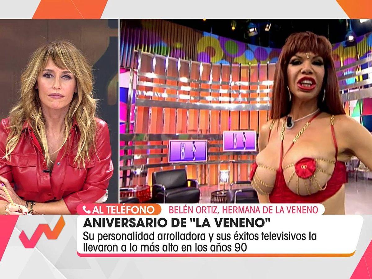 Foto: Emma García, en 'Viva la vida'. (Mediaset España)
