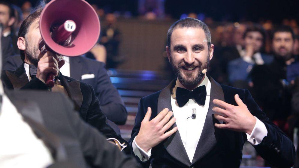 Foto: Dani Rovira y Antonio de la Torre, en un momento de la gala.
