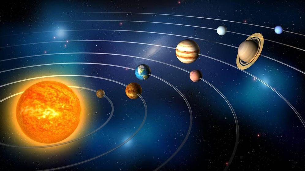 Foto: El plano que siempre nos enseñaron del Sistema Solar (sin Plutón)