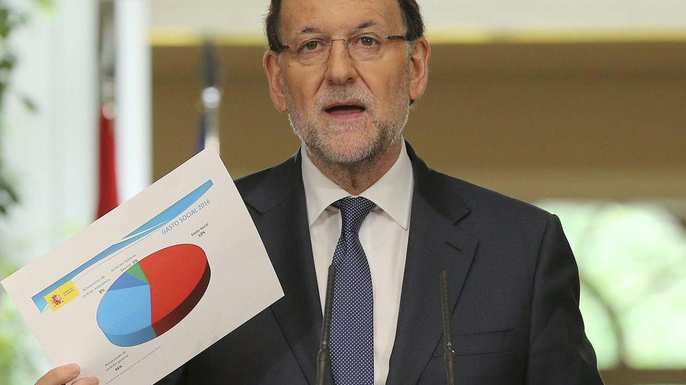 Foto: El presidente del Gobierno, Mariano Rajoy, en su balance de legislatura de este viernes. (EFE)