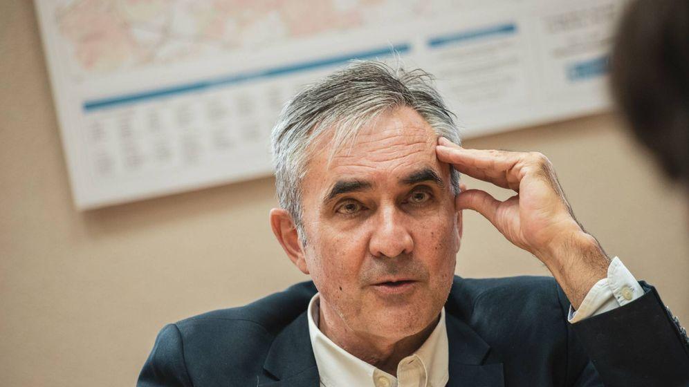 Foto: Eduardo Gutiérrez (Más País) durante la entrevista (Jorge Álvaro Manzano).