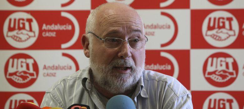 Foto: El secretario de Organización y Coordinación de Área Interna de UGT de Andalucía, Manuel Ferrer