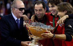 Nadal se pone la roja y vuelve a jugar la Davis con España