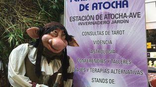 He solucionado todos mis problemas por 35 euros en la Feria Esotérica (creo)