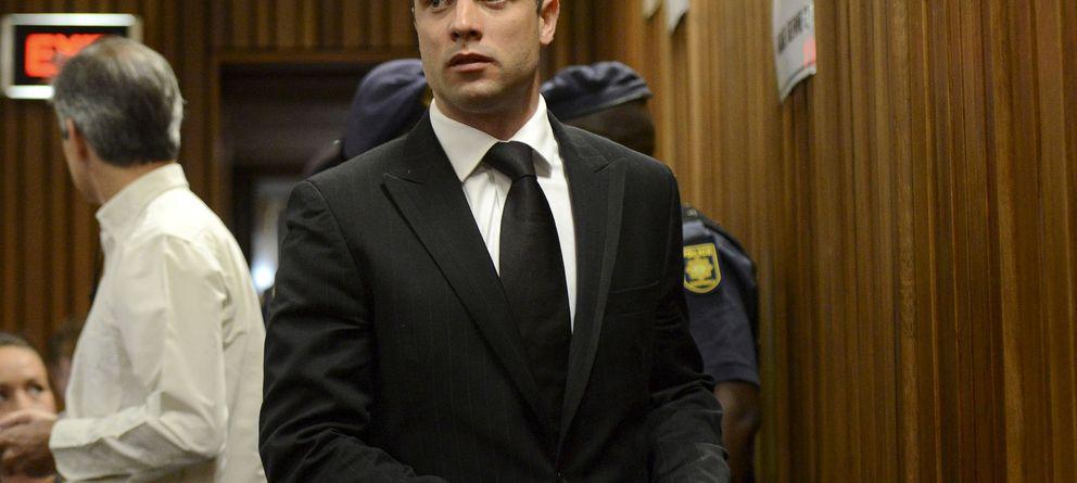 Foto: Pistorius este martes en el tribunal de Pretoria (gtres)