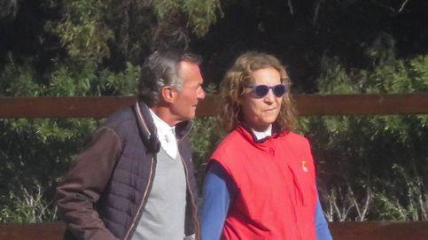 Exclusiva: El cómplice encuentro de la infanta Elena con Luis Astolfi en Sevilla
