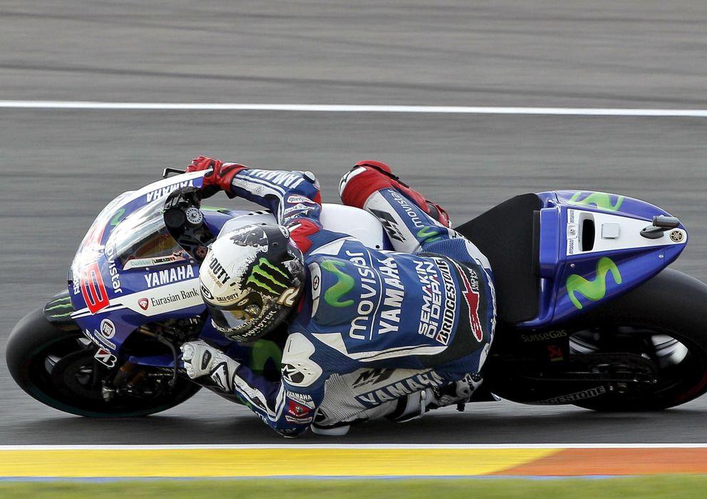 Foto:  El piloto de MotoGP Jorge Lorenzo (Efe)