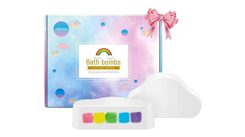 Bombas de baño Rainbow
