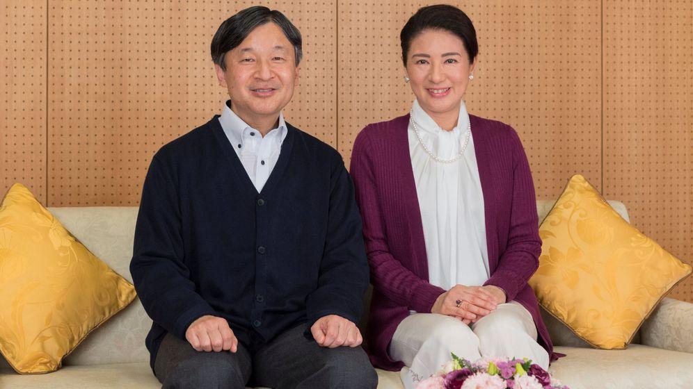 Foto: Naruhito y Masako. (Reuters)