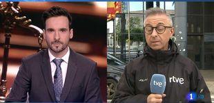 Post de TVE patina en directo con el crimen del caso CAM: