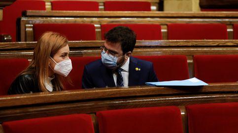 La negociación de En Comú con ERC y CUP inhibe a Podemos de condenar los altercados
