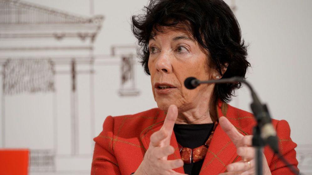 Foto: La ministra de Educación y Formación Profesional, Isabel Celaá. (Efe/Adrián Ruiz-Hierro)