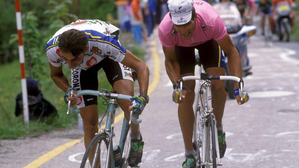 Monte Ologno, inédito 'rompepiernas' cuya bajada ayudó a Indurain a ganar