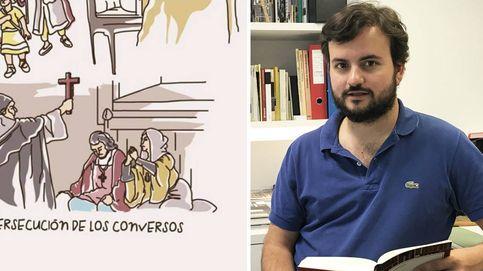 La 'leyenda negra' que persigue al 'youtuber' de Historia más seguido de España