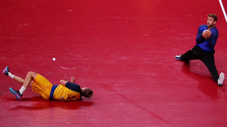 Gonzalo Pérez de Vargas, héroe español en la portería. (Reuters)